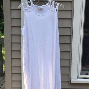 X large Blair white maxi dress